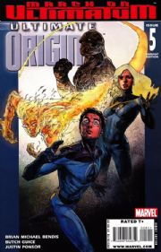 Ultimate Origins #5 Maleev Variant Cover (2008) Marvel comic book
